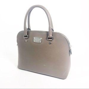 Michael Kors Leather Satchel Purse Handbag stiff